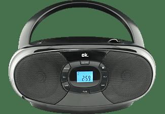 OK. ORC 131-BK STEREO CD Player, Schwarz