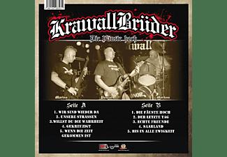 Krawallbrüder - DIE FÄUSTE HOCH (LIM180G BLACK/WHITE MARBLED)  - (Vinyl)