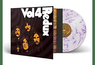 VARIOUS - VOL.4 (REDUX WEISS/PURPUR MARBLE)  - (Vinyl)