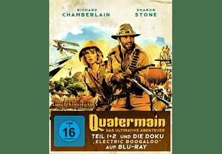 QUATERMAIN - DAS ULTIMATIVE ABENTEUER Blu-ray