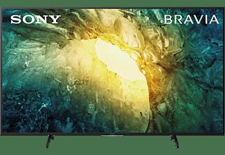 SONY KD-65X7055 LED TV (Flat, 65 Zoll / 164 cm, UHD 4K, SMART TV, Linux)