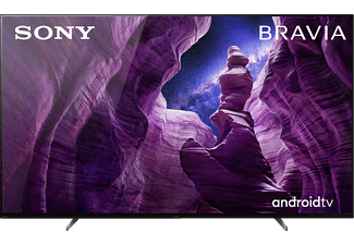SONY KD-55A85 OLED TV (Flat, 55 Zoll / 139 cm, OLED 4K, SMART TV, Android TV)