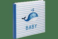 WALTHER Sam Fotoalbum, 50 Seiten, Kunstdruck, Blau