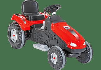 JAMARA Ride-On Traktor Big Wheel 12 V Kinderfahrzeug Rot