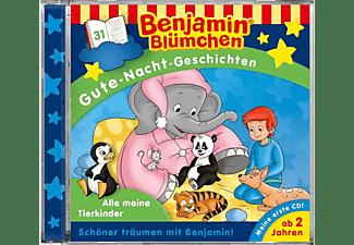 Benjamin Blümchen Gng - Folge 31:Alle meine Tierkinder  - (CD)