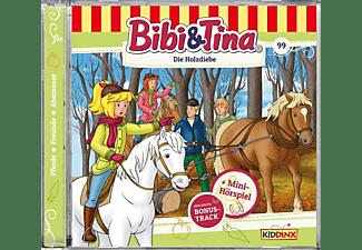 Bibi+tina - Folge 99:Die Holzdiebe  - (CD)