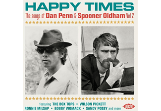 VARIOUS - HAPPY TIMES: THE SONGS OF DAN PENN And SPOONER OLDHA  - (CD)