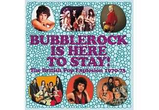 VARIOUS - BUBBLEROCK IS HERE TO STAY! THE BRITISH POP EXPLOS  - (CD)