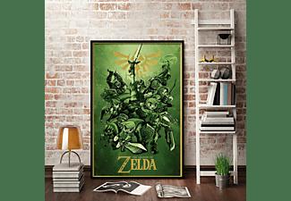 The Legend of Zelda Poster Link