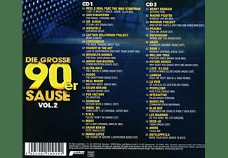 VARIOUS - Die Grosse 90er Sause 2-Alle Starken 90er Hits  - (CD)