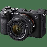 SONY Systemkamera Alpha 7C Gehäuse + 28-60 mm Zoomobjektiv, schwarz
