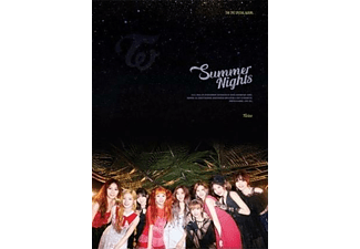 Twice - Summer Nights  - (CD + Buch)