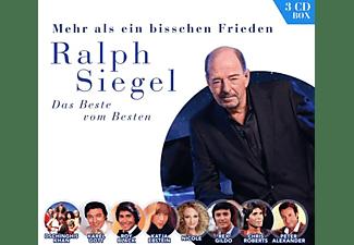 VARIOUS - Ralph Siegel - Mehr als ein bisschen Frieden  - (CD)