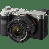 SONY Alpha 7C Kit (ILCE-7CL) Systemkamera mit Objektiv 28-60 mm, 7,6 cm Display Touchscreen, WLAN
