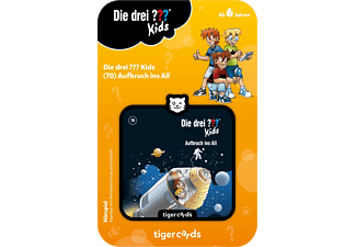 TIGERMEDIA Die Drei!!! Kids - Aufbruch ins All Tigercard, Mehrfarbig