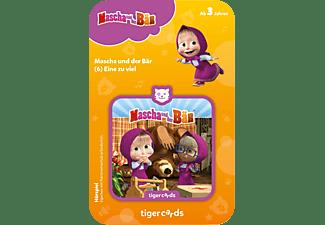 TIGERMEDIA Mascha und der Bär - Eine zu viel Tigercard, Mehrfarbig
