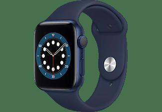 APPLE Watch Series 6 - Aluminium kast Blauw 44mm, Sportbandje Donkermarineblauw
