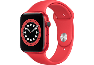 APPLE Watch Series 6 - Aluminium kast Rood 44mm, Sportbandje (PRODUCT)RED (M00M3NF/A)