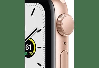 APPLE Watch SE GPS 40mm Aluminiumgehäuse Gold mit Sportarmband Sandrosa