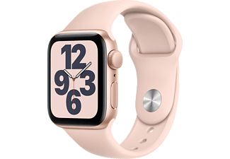 APPLE Watch SE 40mm goud aluminium / roze sportband