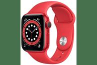 Apple Watch Series 6 (PRODUCT)RED, GPS, 40 mm, Caja de aluminio en Rojo, Correa deportiva (PRODUCT)RED