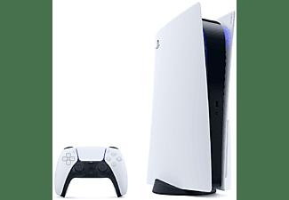 Consola - Sony PS5, 825 GB, 4K, HDR, Blanco