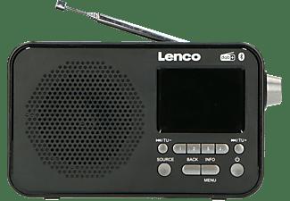 LENCO PDR-035BK DAB+ Radio, DAB+, FM, Bluetooth, Schwarz