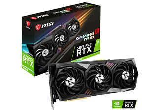 MSI GeForce RTX™ 3080 GAMING X TRIO 10GB (V389‐005R) (NVIDIA, Grafikkarte)