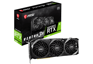 MSI GeForce RTX™ 3080 VENTUS 3X OC 10GB (V389‐001R) (NVIDIA, Grafikkarte)