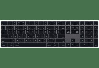 Apple Magic Keyboard, teclado inalámbrico numérico, Bluetooth, QWERTY Español, Gris espacial