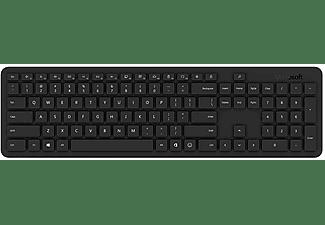 Teclado inalámbrico - Microsoft QSZ-00024, Bluetooth, Para PC, Negro