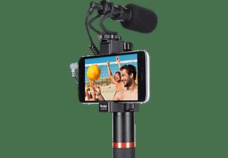 ROLLEI Hear:Me Grip Smartphone Videogriff, Zubehör für Mikrofone Rollei Hear:Me Pro und Mini, Schwarz