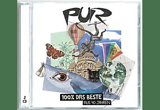 """PUR - 100% das Beste aus 40 Jahren"""" inkl. 3 neuen Songs und Megamix  - (CD)"""
