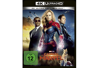 Captain Marvel 4K Ultra HD Blu-ray + Blu-ray