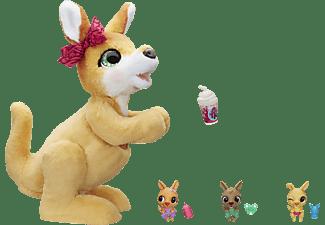 HASBRO furReal Mama Josie, das Känguru Kuscheltier Mehrfarbig