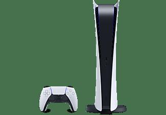 Consola - Sony PS5 Digital Edition, 825 GB, 4K, HDR, Blanco