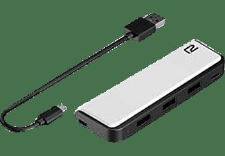 READY 2 GAMING PS5 USB Hub, Schwarz/Weiß