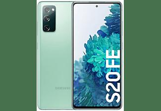 "Móvil - Samsung Galaxy S20 FE 4G, Verde, 128 GB, 6 GB RAM, 6.5"" Full HD+, Exynos 990, 4500 mAh, IP68, Android"