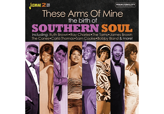 VARIOUS - THE BIRTH OF SOUTHERN SOUL. THESE ARMS OF MINE  - (CD)