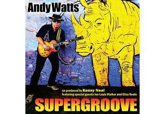 Andy Watts - Supergroove  - (CD)