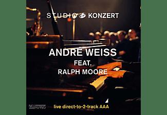 Weiss,Andre Feat. Moore,Ralph - STUDIO KONZERT (180G VINYL LIMITED EDITION)  - (Vinyl)