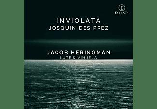 Jacob Heringman - JOSQUIN DES PREZ INVIOLATA  - (CD)