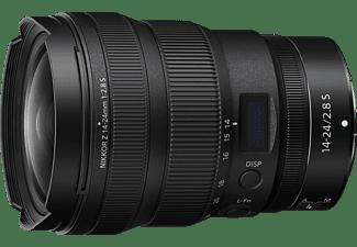 NIKON Nikkor S 14 mm - 24 mm f.2.8 IF (Objektiv für Nikon Z-Mount, Schwarz)