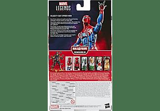 HASBRO Marvel Legends Series 15 cm große Hochgeschwindigkeitsanzug Spider-Man Figur Actionfigur Blau/Rot