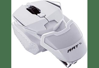 MAD CATZ R.A.T. 1+ Optical Gaming Maus, Weiß