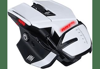 MAD CATZ R.A.T. 4+ Optical Gaming Maus, Weiß