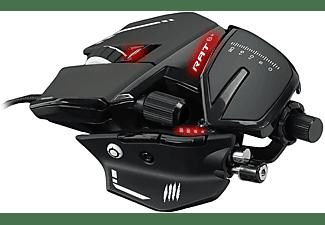 MAD CATZ R.A.T. 8+ Optical Gaming Maus, Schwarz