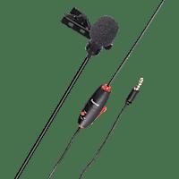 HAMA Smart, Lavalier-Mikrofon, Schwarz