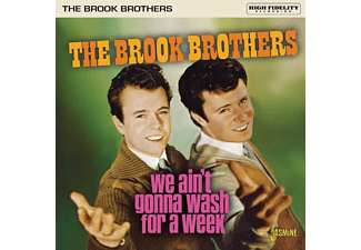 The Brook Brothers - We Ain't Gonna Wash For A Week  - (CD)