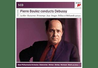 Pierre Boulez - Pierre Boulez Conducts Debussy  - (CD)
